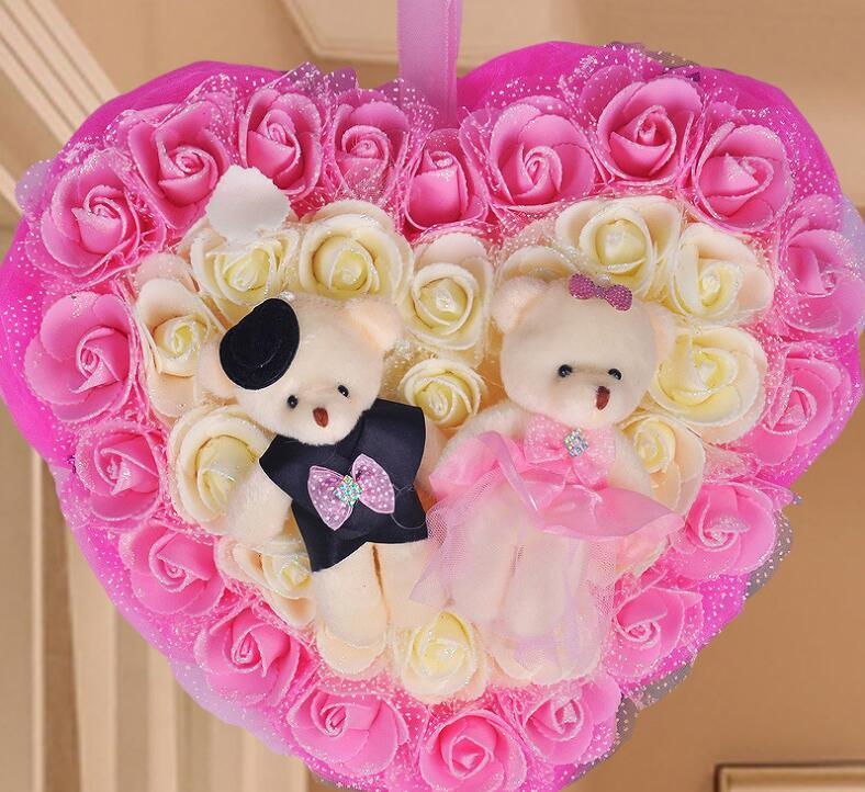Hot Sale Bunga Karangan Bunga Pernikahan Dekorasi Bunga Mawar Busa