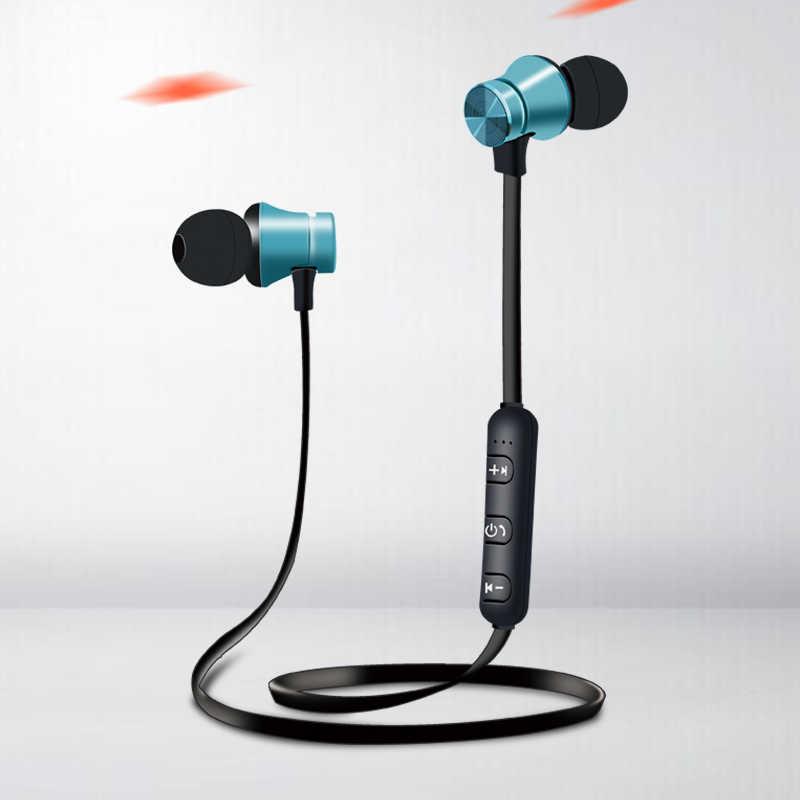 Magnetyczny atrakcji Bluetooth słuchawki sportowe słuchawki Fone de ouvido dla iPhone Samsung Xiaomi Ecouteur Auriculares hurtownie