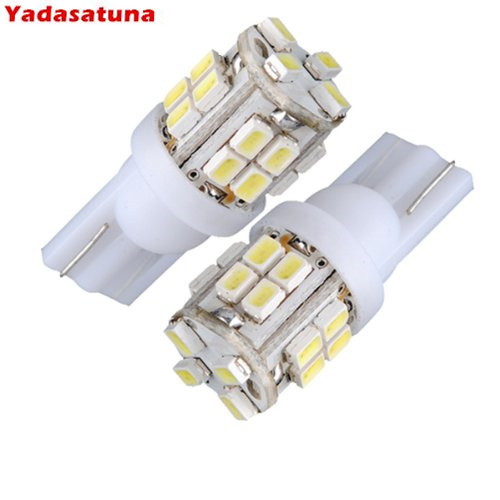 10x t10 501 w5w 20 smd led blanc ampoule lampe pour auto voiture dc 12v in signal lamp from