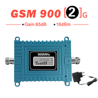 Walokcon LCD Display Mini GSM Signal Repeater 900 MHz Cell Mobile Phone GSM 900 Signal Booster GSM Amplifier Improve Voice
