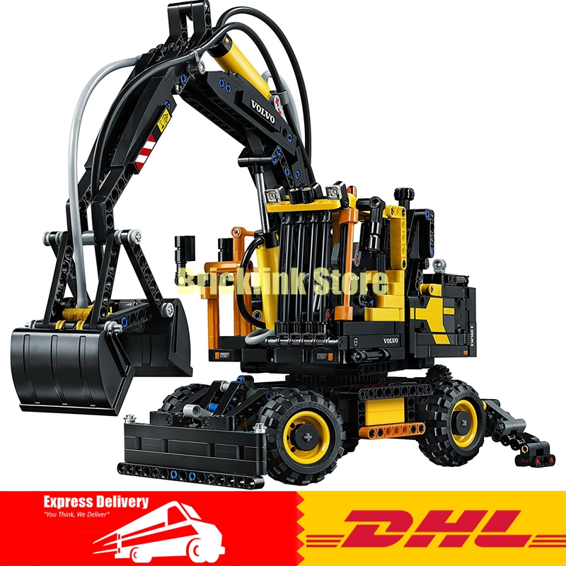 In-Stock 2017 New LEPIN 20023 1166Pcs Technology Series Excavator toy Building blocks toys for children gift 42053 5353 503 new in stock