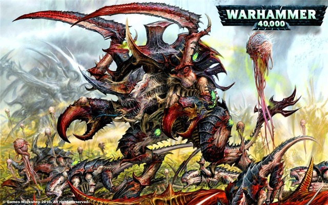 US $6 99 |Tyranids Warhammer 40k 2015 Classical Custom Fashion FREE  SHIPPING Movie Comic Poster Printed Size(40x60)cm Wall Sticker-in Wall  Stickers