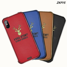 ZKFYS Shockproof Soft Back Cover For Xiaomi Mi 8 Lite Mix 2S 3 Max 3 Case Luxury TPU Leather Case For Redmi 6 6A 6 Pro Case bonvan phone case for xiaomi mi a2 lite case cloth deer cover for xiomi mi 8 se explorer max 3 mix 2s case for redmi 6 6a pro