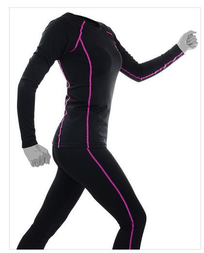 Free Shipping,women's Brand New Warm Sets,fitness Winter Functional Thermal Underwear.fleece Long Johns,