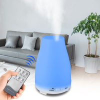 Aroma Essential Oil Diffuser Ultrasonic Air Humidifier Aromatherapy Cool Mist Maker Fogger 200MLfor Home Office And