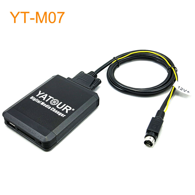 Yatour Car MP3 USB SD CD Changer for iPod AUX with Optional Bluetooth for Volvo with SC-xxx Headunit with Mini Din C70 apps2car usb sd aux car mp3 music adapter car stereo radio digital music changer for volvo v70 1999 2007 [fits select oem radio]