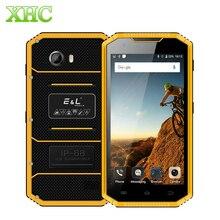 KXD E & L W7S Android 6.0 携帯電話 2 ギガバイト 16 ギガバイト IP68 防水耐衝撃防塵 5.0 インチ MTK6737 クアッドコアデュアル SIM スマートフォン