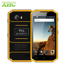 KXD E&L W7S Android 6.0 Mobile Phone 2GB 16GB IP68 Waterproof Shockproof Dustproof 5.0inch MTK6737 Quad Core Dual SIM Smartphone