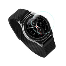 Tempered Glass Film For Samsung Gear S3 Smart Watch 9H Anti Scratch Ultra Thin Screen Protector Film tempered glass film for samsung gear s3 smart watch 9h anti scratch ultra thin screen protector film