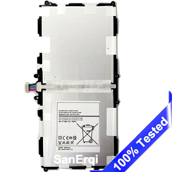 T8220E for <font><b>Samsung</b></font> Galaxy P600 <font><b>Battery</b></font> T520 P601 SM-P601 P605 P607 <font><b>Note</b></font> <font><b>10.1</b></font> <font><b>2014</b></font> <font><b>Edition</b></font> 8220mAh Tablet <font><b>Battery</b></font> Replacement image