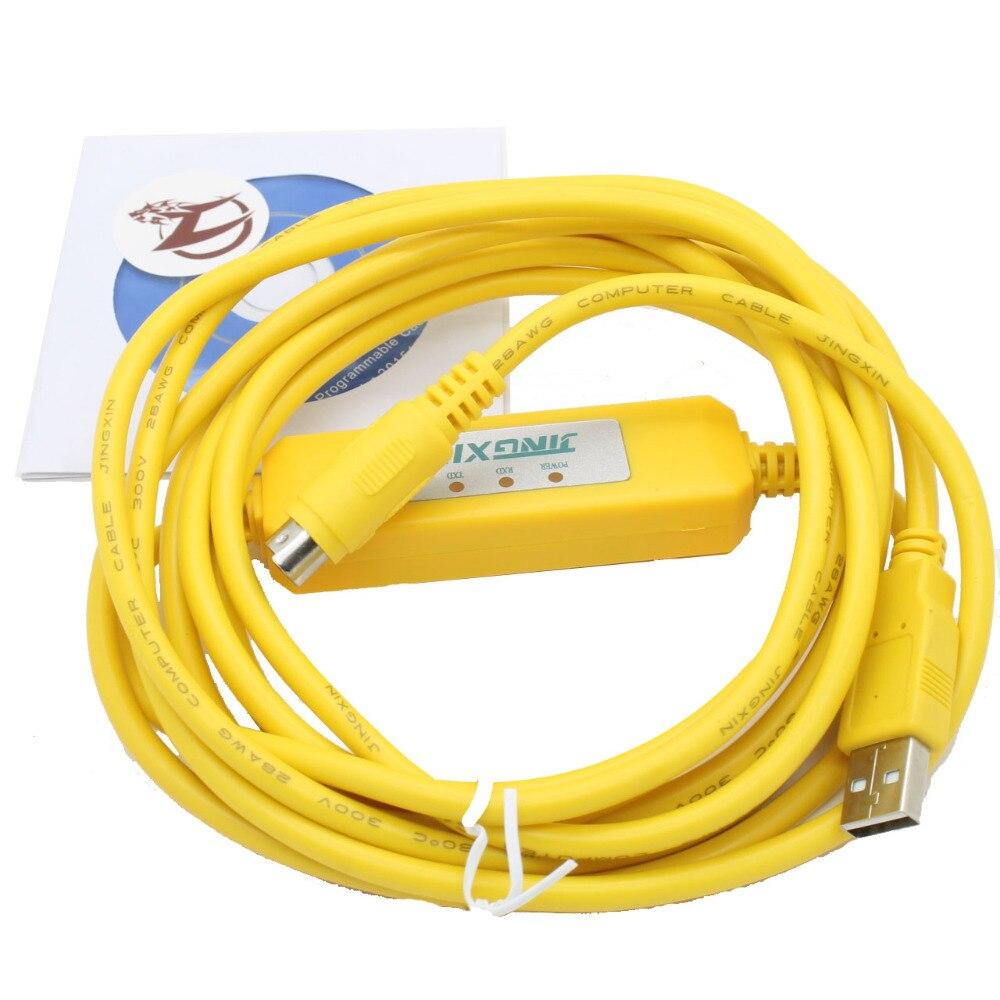 Il trasporto Libero USB-SC09-fx PLC Cavo di Programmazione SC-SC09 FX FX1N/FX2N/FX1S/FX3U PLC cavo di programmazioneIl trasporto Libero USB-SC09-fx PLC Cavo di Programmazione SC-SC09 FX FX1N/FX2N/FX1S/FX3U PLC cavo di programmazione