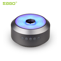 SogoZX001Portable Wireless Speaker Mini Clock Speaker Bluetooth Subwoof Sound 3W Surround Microphone With Mic TF Card