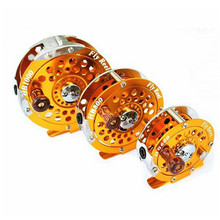 Bobing BF Ice Fishing Reel 600/800/1000A 1:1 Aluminum Alloy Tackle Box Fishing Accessories pesca Fly Fishing Line Reel Fly Wheel