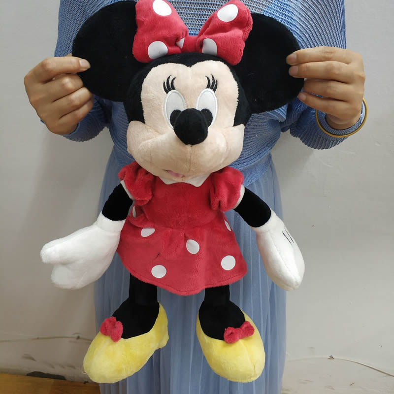42cm 16.5'' Stuffed Mickey&Minnie Mouse Plush Toy High Quality Dolls Birthday Wedding Gifts For Kids Baby Children