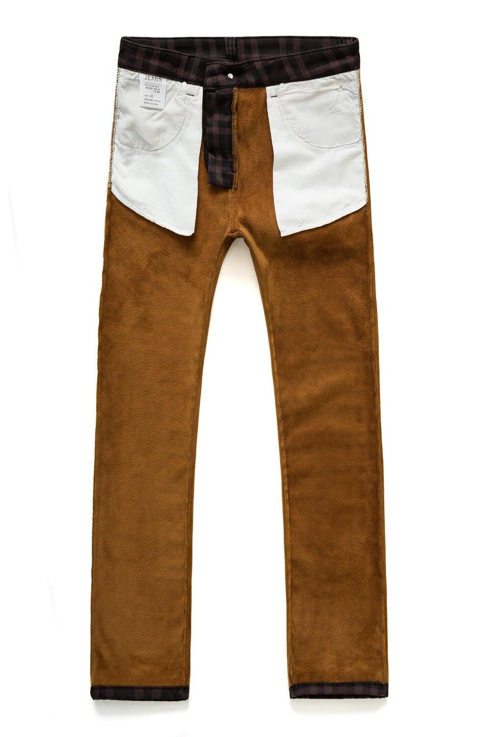 Pantalones Vino E Plaid Los Casual Rectos Engrosamiento Invierno Terciopelo Hombres Slim Elásticos Ropa Otoño Hombre De Rojo Más Elástico La xYq8vYd4w
