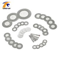 38pcs Diamond Cutting Disc For Dremel Tools Accessories Mini Saw Blade Diamond Grinding Wheel Set Rotary