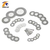 38pcs Diamond Cutting Disc For Dremel Tools Accessories Mini Saw Blade Diamond Grinding Wheel Set Rotary