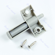 Cabinet-Door Damper Close-Closer Kitchen Drawer Buffers Quiet Soft Gray 10pcs/Lot Screws