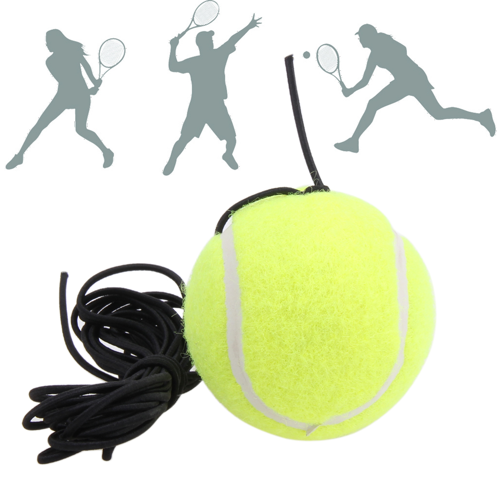 Hot Sell String Replacement Elastic Rubber Band Tennis Balls Sell Well Tennis Training Belt Line Training Ball Free Shipping