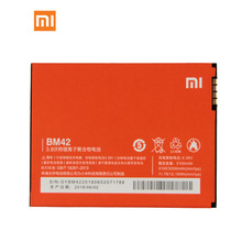 Original Xiaomi BM42 Note 4G Prime Phone Battery For 3100mAh