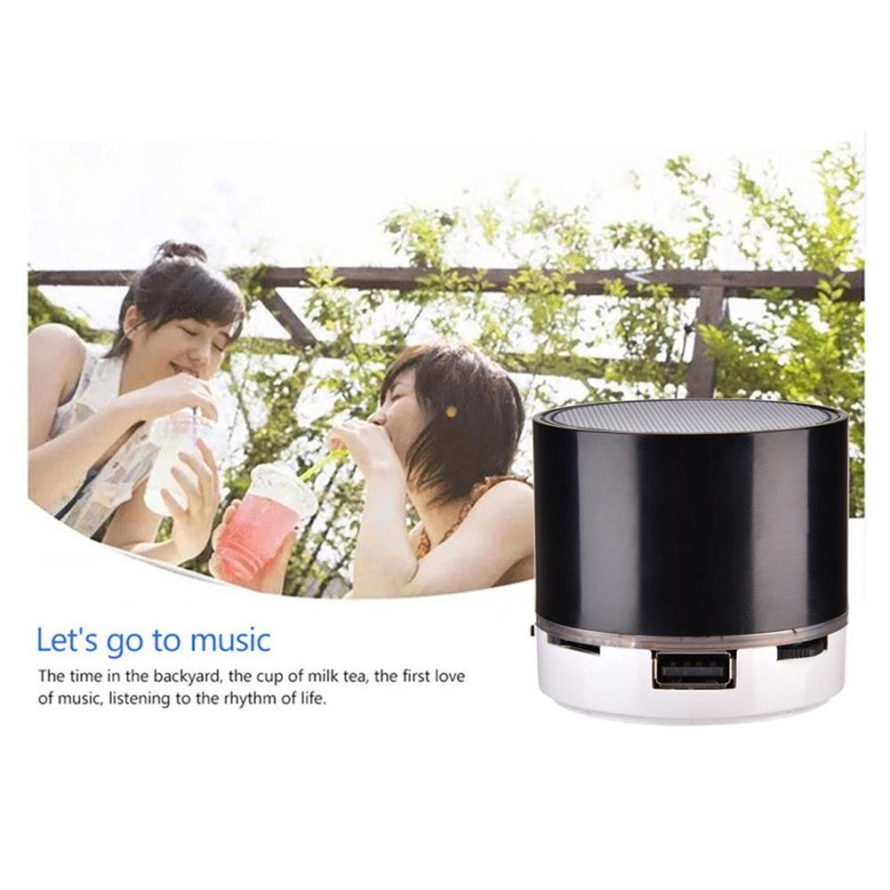 Image 5 - S10 Stereo Bluetooth Speaker Support U Disk TF Card Universal Mobile Phone Music Mini Wireless Outdoor Portable Woofer Subwoofer-in Portable Speakers from Consumer Electronics