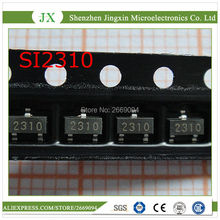 50 PCS SI2310 SI2310DS SI2310BDS SOT23 מקורי אותנטי וחדש משלוח חינם IC