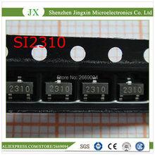 50 قطعة SI2310 SI2310DS SI2310BDS SOT23 الأصلي أصيلة وجديدة شحن مجاني IC