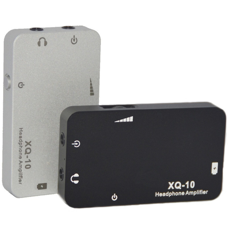 xDuoo XQ-10 XQ10 Mini Portable Earphone Headphone Amplifier 3.5mm Stereo Jack Metal Case Big Power High Quality Sound Original