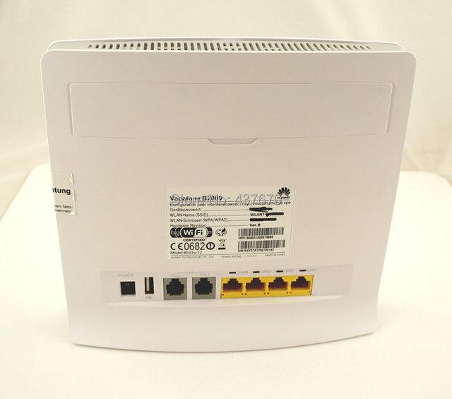 Unlocked Huawei B593 B593u-12 4G LTE FDD 4G wireless router 100Mbps WiFi Hotspot SIM Card Slot huawei B593S