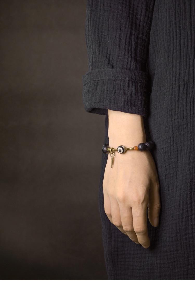 Faced-10mm-Black-Obsidian-Bracelet-Mixed-Tibtetan-Bead-Vintage-Processed-Copper-Zen-Healing-Prayer-Jewelry-for-Men-Women (7)