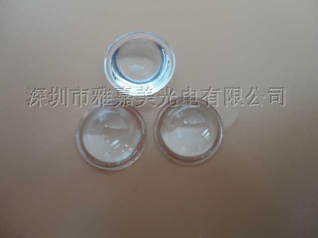 Power LED linsendurchmesser 12,5 MM optical glass konvexe linse, optischen linse LED bremsleuchten