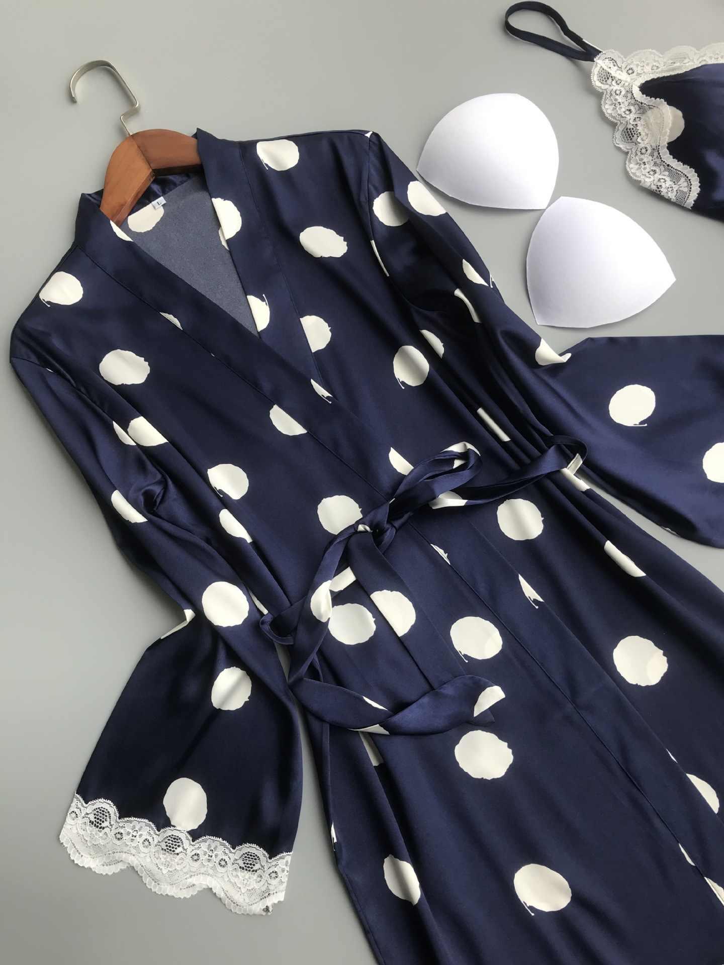 QWEEK Robe наборы Ночная одежда для сна женский халат комплекты кружевное шелковое платье Ночная рубашка для женщин кимоно Женская пижама сексуальная одежда