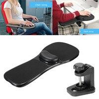 Ergonomic Home Office Computer Arm Rest Chair Desk Wrist Mouse Pad Support Black Computer Table Arm Support Wrist Mouse Pads