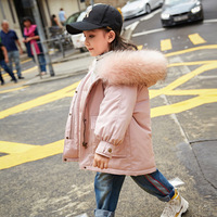 2018 New Baby Girl Down Coat Kids Winter Jacket Kids Coats Winter Girl Down Jackets White Duck Down Toddler Warm Coat,#3646