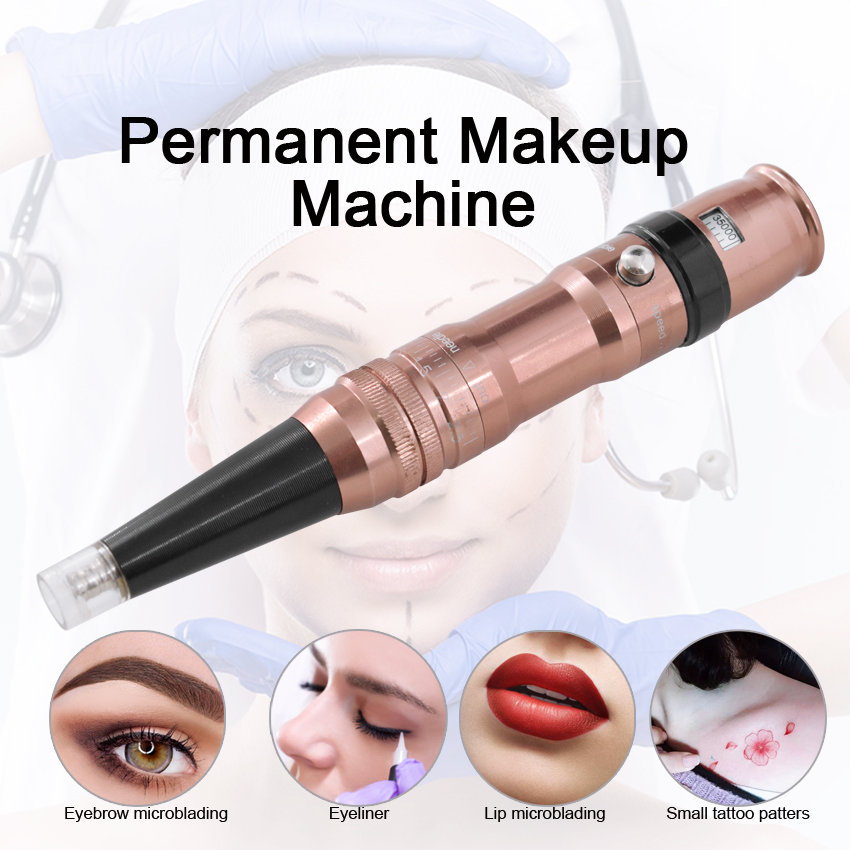 Permanent Makeup Machine Swiss Motor 35000r/m Eyebrow Lip Eyeliner Microbalding Beauty Tools Rotary Gun for Tattoo Needles TipsPermanent Makeup Machine Swiss Motor 35000r/m Eyebrow Lip Eyeliner Microbalding Beauty Tools Rotary Gun for Tattoo Needles Tips