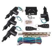Universal 2/4 Door Remote Keyless Entry System Car Central Locking Kit Car Remote Central Kit Alarm Security Keyless Entry