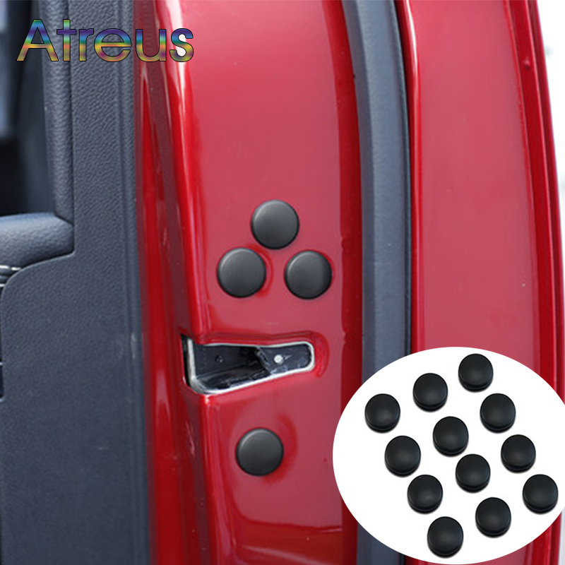 12X Car Door Screws Covers Sticker For Audi A3 8P A4 B6 B7 A5 A6 C7 Hyundai <font><b>I30</b></font> Kona Honda Civic 2006-2011 <font><b>2017</b></font> Accord 2003 2007 image