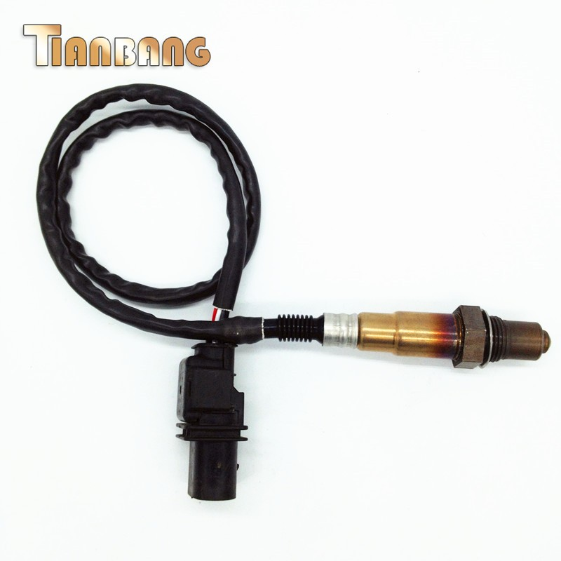 ФОТО 5 Wire Front Oxygen Lambda O2 Sensor for VW Beetle Golf Bora Passat Audi A3 A4 A8 TT Seat Skoda OE#: 0258007351 06B906265D