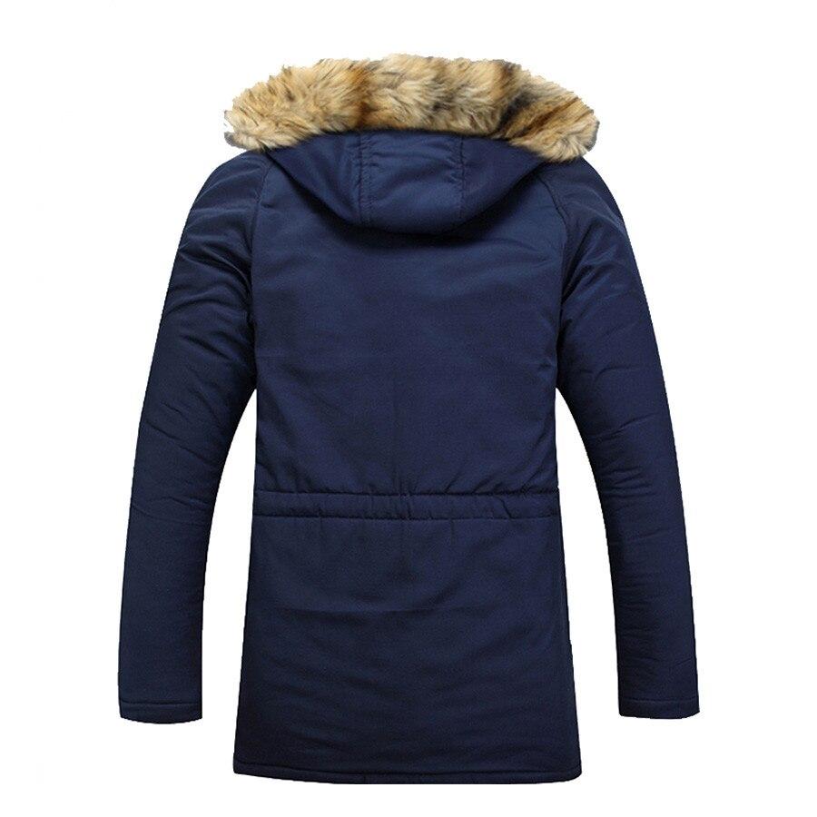 Hombres, chaqueta y abrigos con capucha de invierno, nieve cálida - Ropa de hombre - foto 4