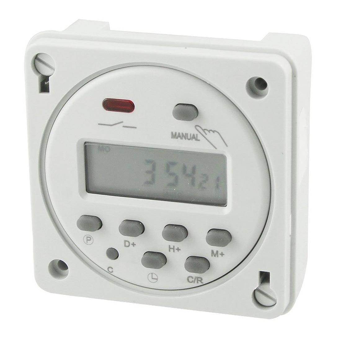 Cn101A LED Digital Power Programmable Electronic Timer AC 110V 16A