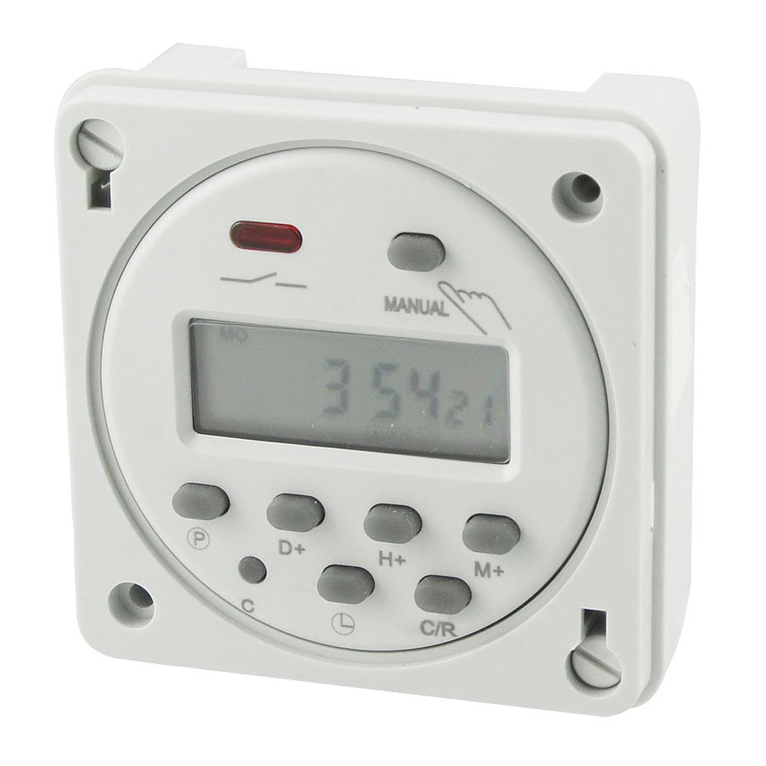 Cn101A LED Digital Power Programmable Electronic Timer AC 110V 16A