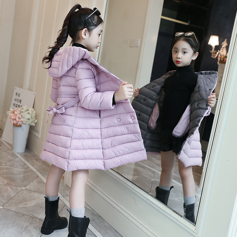 Kids Down Coat For Girls Snowsuit 2018 Fashion Baby Girl Winter Clothes 5 6 7 8 9 10 11 12 13 Year Child Cotton Padded Down Coat cnd creative play вase coat 13 6 мл page 9
