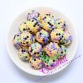 Promoción Envío Gratis Rhinestone Color 20 MM 100 Unids Inspirado Beads Chunky Color de Halloween