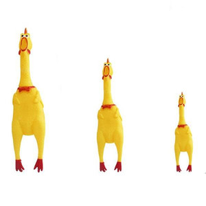 Hot Sell Funny Sounding Pet Toy Dog Toys Chicken Squeak Cock Screaming Squeeze Cat Toy Shrilling Decompression Cute Pet Products