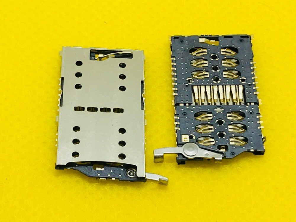 Sim Card Adapters Sweet-Tempered Panel Pc Computer Big Sim+tf/sd 3 In 1 Card Slot Tray Socket Connector Adapter Holder Reader Smartphone Mainboard Repair Parts Beneficial To The Sperm Mobile Phone Parts