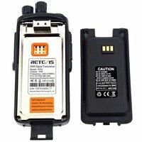 מכשיר הקשר 10W DMR רדיו דיגיטלי מכשיר הקשר IP67 Retevis Waterproof RT81 UHF 400-470 Mhz VOX הצפנה דיגיטלי / אנלוגי מצבי A9119A (5)