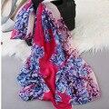 2017 Korea new spring and summer fashion all-match small scarf fashion sexy scarves silk chiffon scarf small strip female wj35