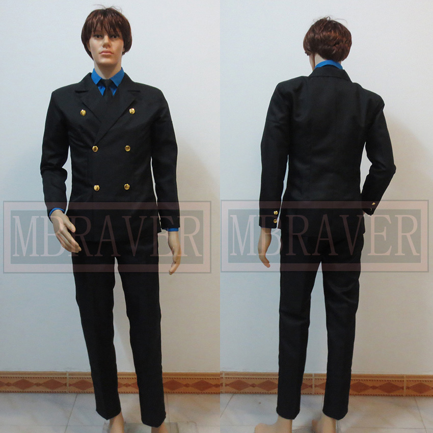 One Piece Sanji Cosplay Costume Two years later Custom made Any size