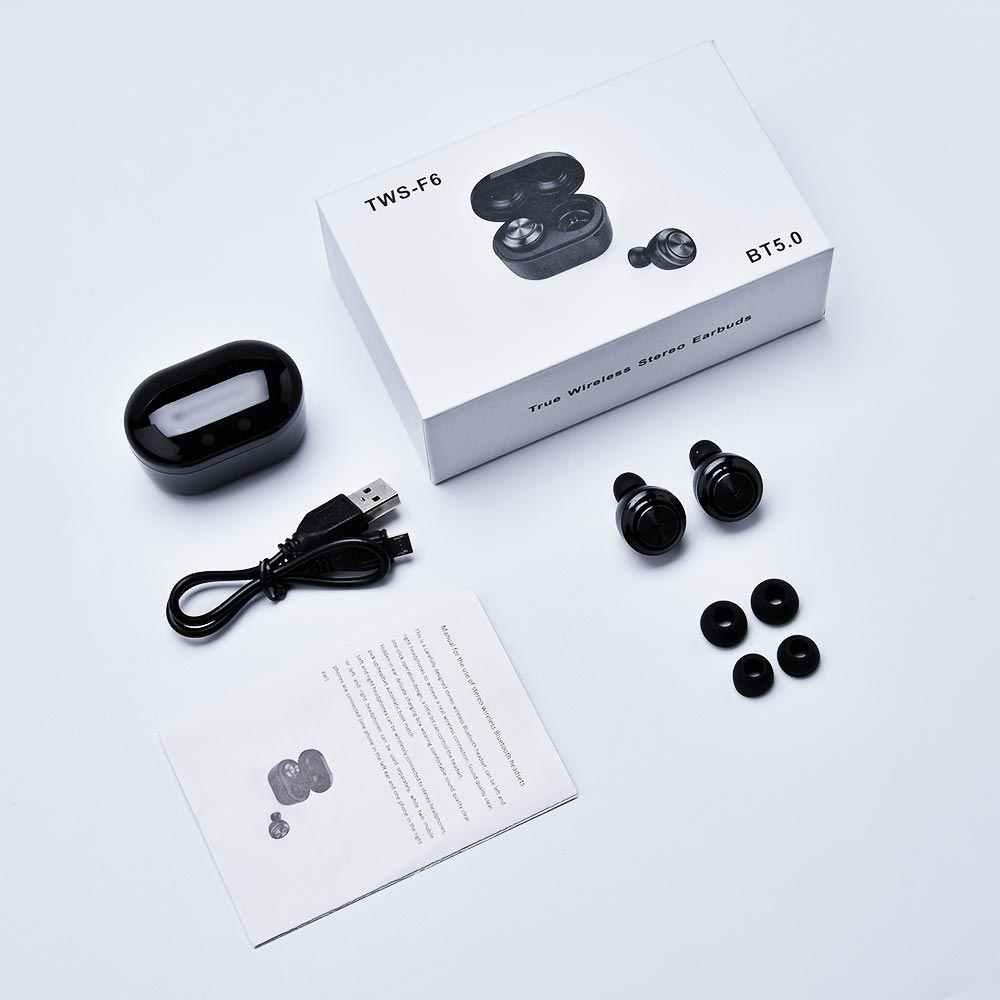 Bluetooth TWS 5.0 słuchawki bezprzewodowe słuchawki Bluetooth słuchawki zestaw głośnomówiący słuchawki słuchawki sportowe do gier zestaw słuchawkowy do telefonu