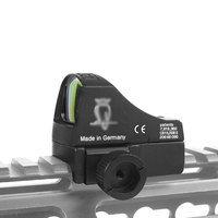 DOC Mini Red Dot Sight Holographic Dot Sight With 20MM Dovetail Rail For Pistol Airsoft GB Sight Scope Hunting Scope